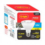 Lamp.Led Par 30 G-Light 9,8w Bivolt 6000k
