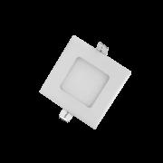 Painel Led G-Light Quad. Embutir 3w 3000k