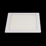 Painel Led Llum Quad. Embutir 12w 6500k