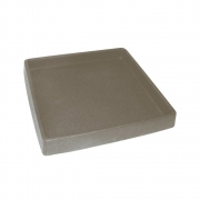 Prato P/ Vaso Japi Quadrado 30cm ***Marmore