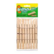 Prendedor Brilhus Madeira Bt2054
