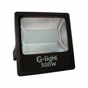 Refletor Led Smd Prof 500w 6500k G-Light