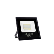 Refletor Led Smd Prof G-Light 50w 6500k Preto