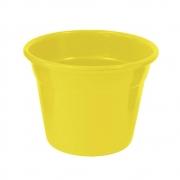 Vaso Japi Aluminio Soleil 15cm Amarelo