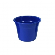 Vaso Japi Aluminio Soleil 8cm Azul