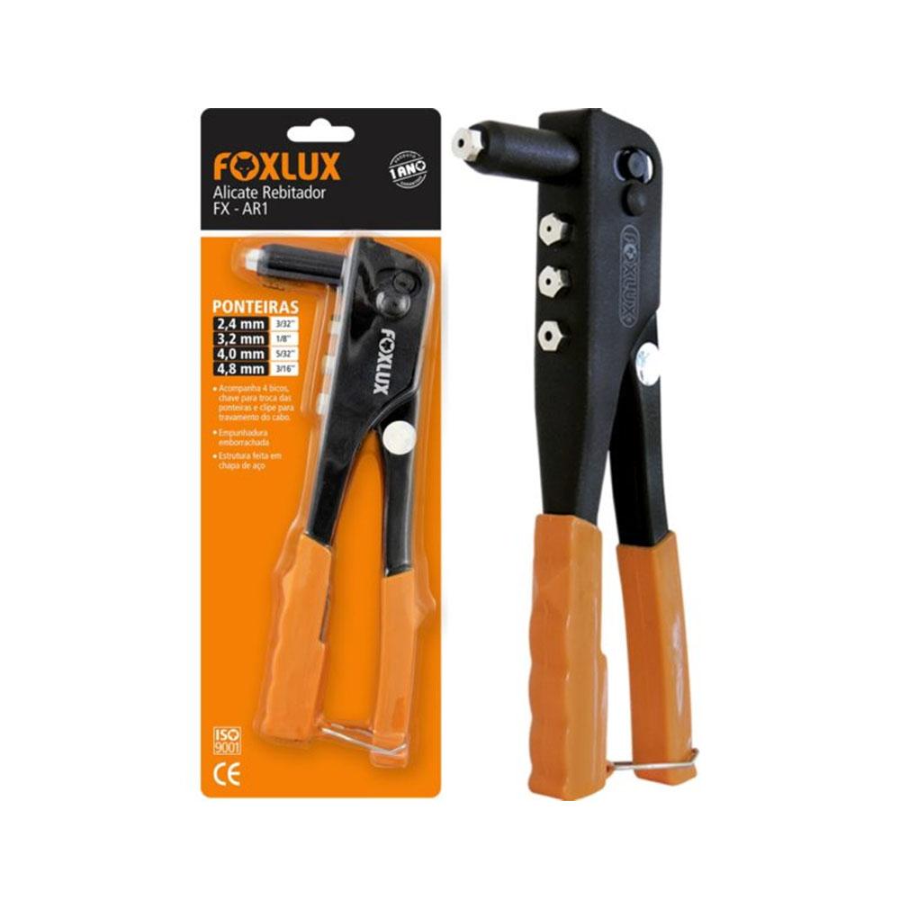 Alicate Foxlux Rebitador Ar1