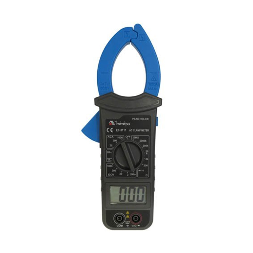 Alicate Teste Amperimetro Minipa Digital Et-3111