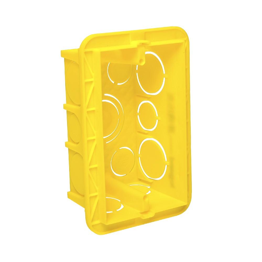 Caixa De Pvc 4x2 Legrand Amarela