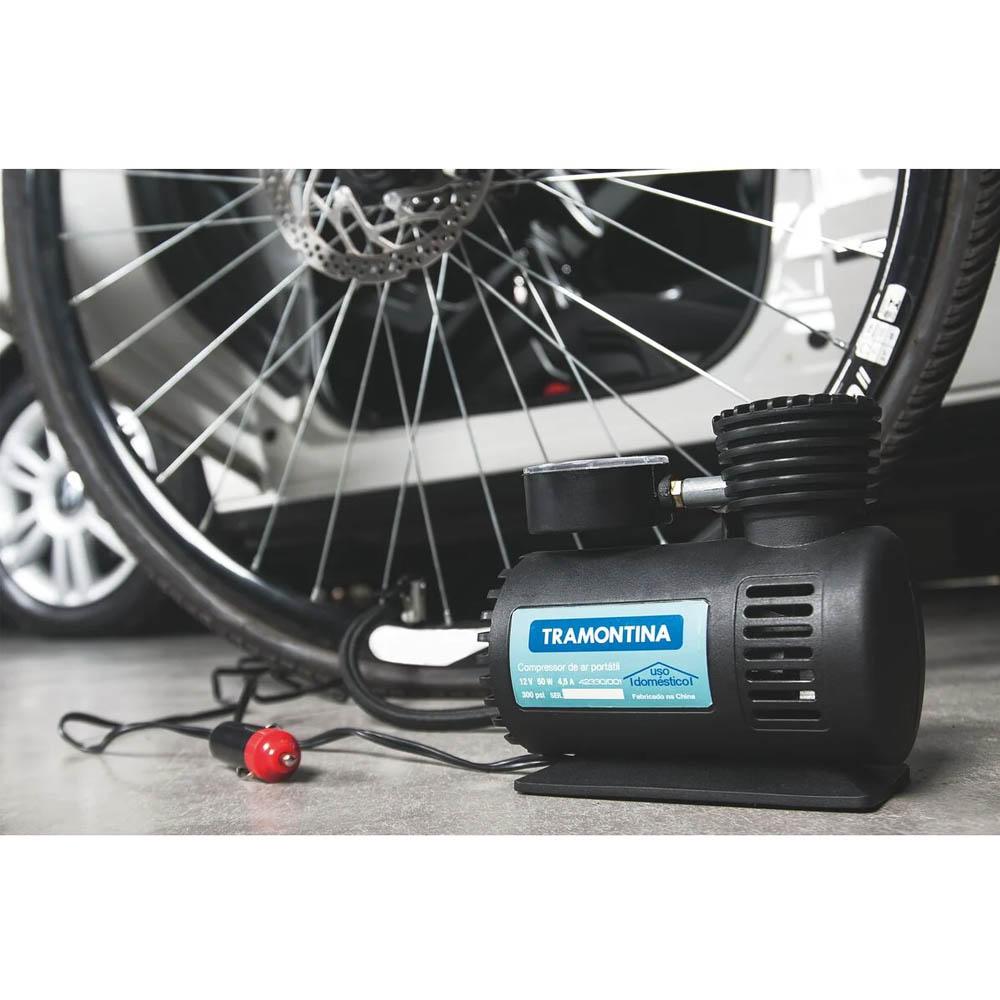 Compressor De Ar Portatil 12v Tramontina  42330/001