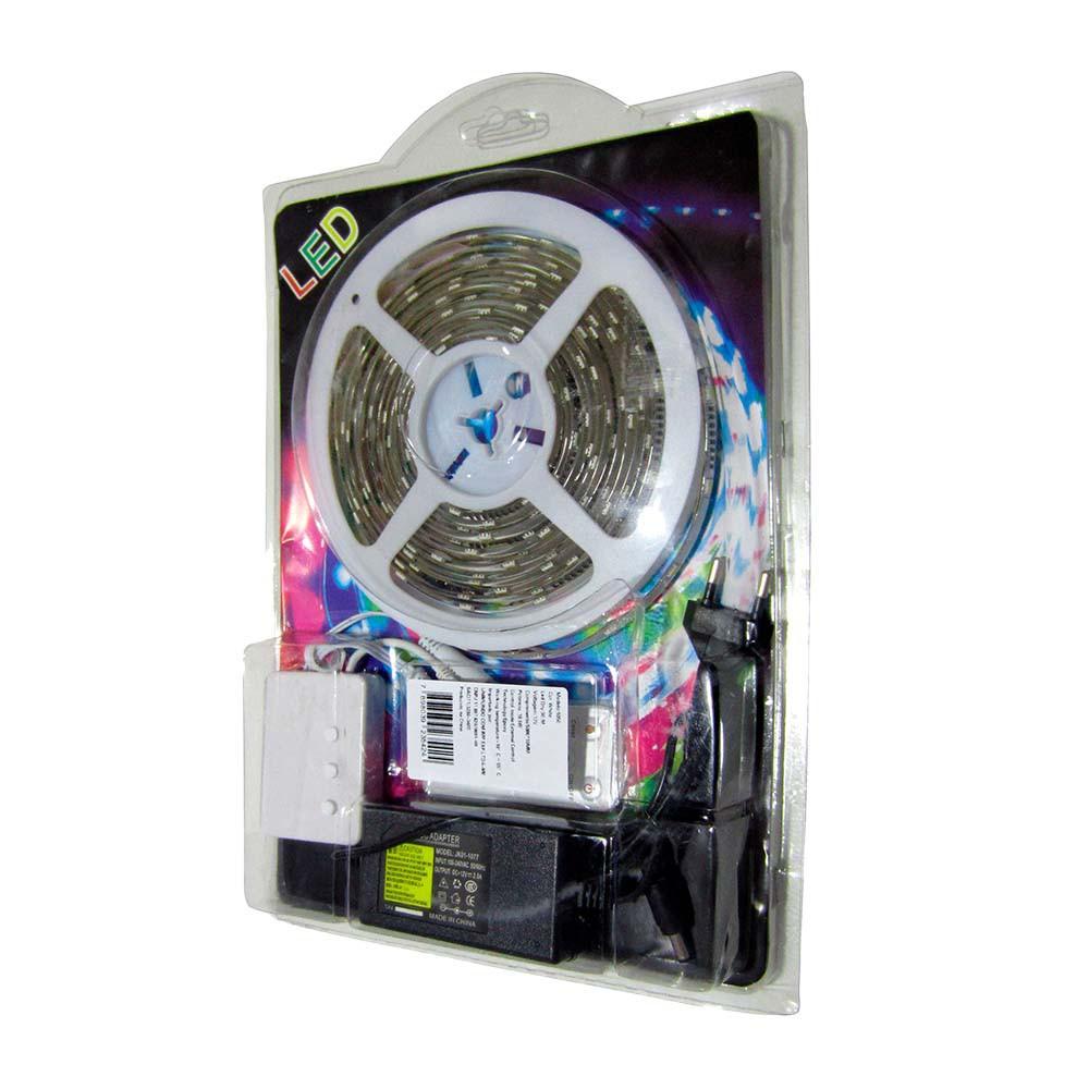 Fita Led Kit Ip65 42w 5m Nitrolux C/ Fonte 6500k