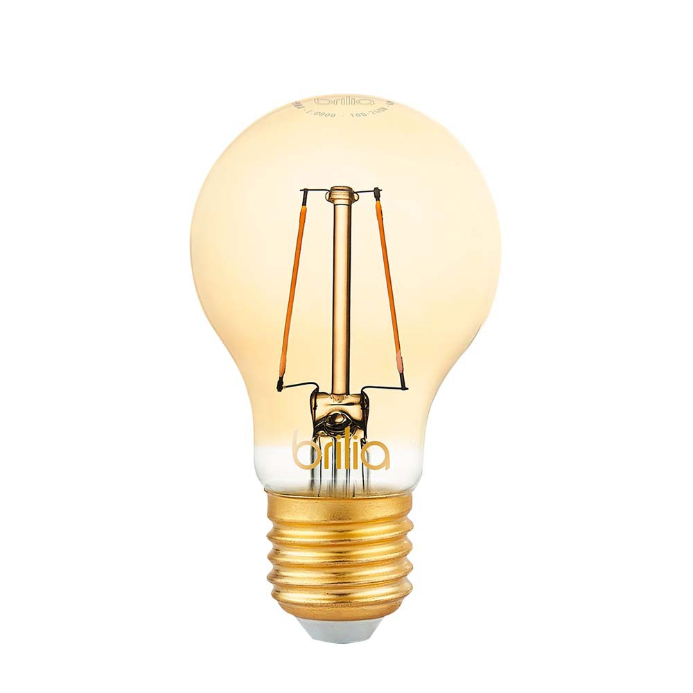Lamp.Led A60 Filamento Brilia E-27 2,5w Biv.