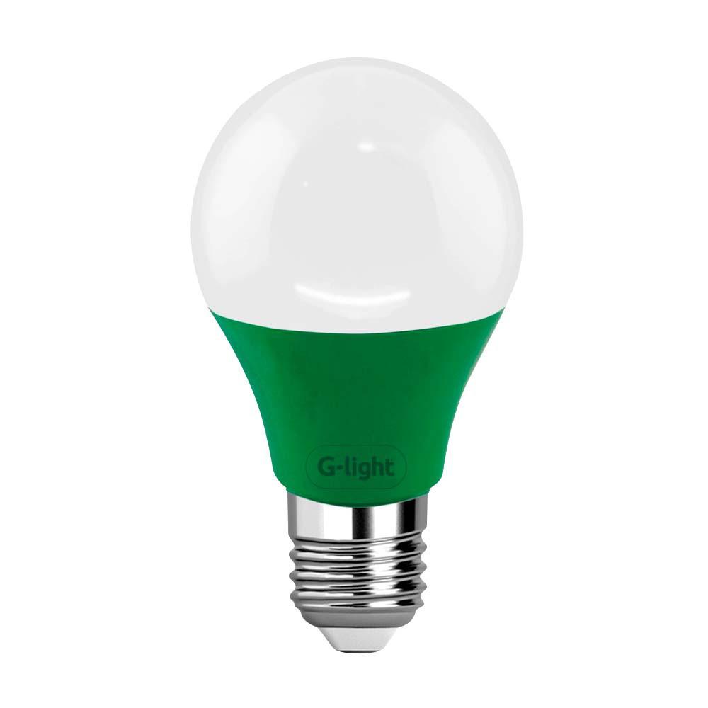 Lamp.Led A60 G-Light E-27 5w Color Biv. ***Verde