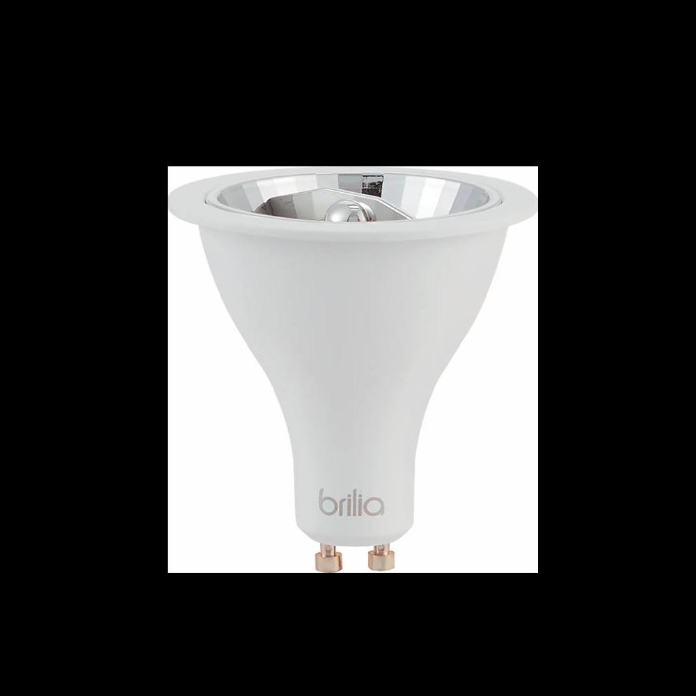 Lamp.Led Ar70 Refletora Brilia 4,8w 12° Bivolt 434802 2700k