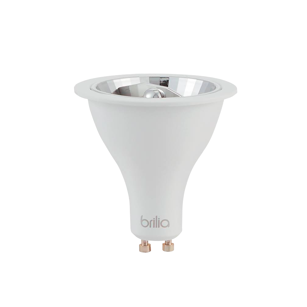 Lamp.Led Ar70 Refletora Brilia 4,8w Gu10 24° Bivolt