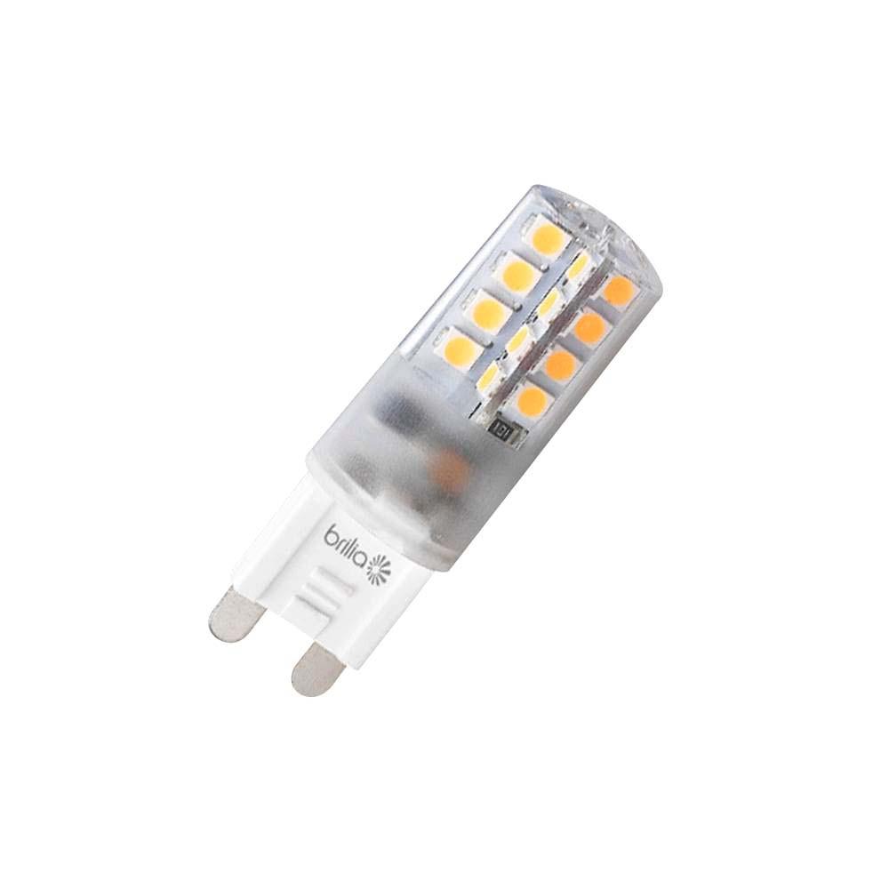 Lamp.Led G9 Policarbonato Brilia 2,5w 127v/220v 432143