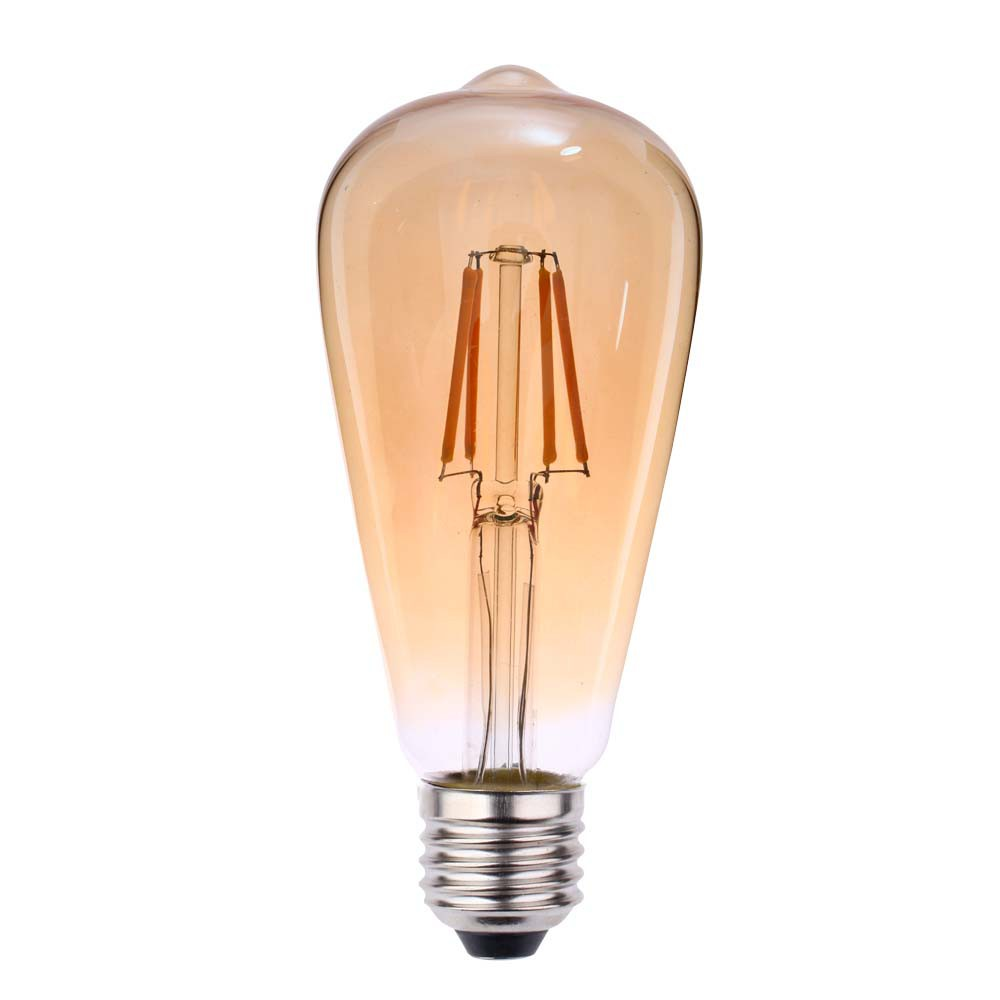 Lamp.Led St64 Filamento Llum E-27 4w Biv.