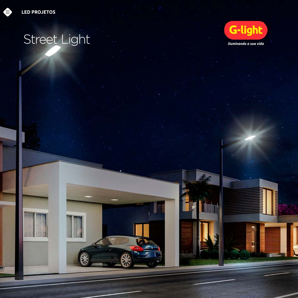 Lamp.Led Street Led G-Light 40w E-40 220v ***3000k
