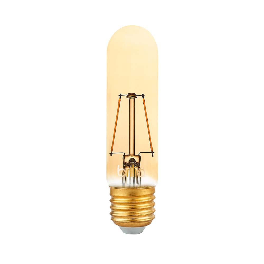 Lamp.Led T30 Filamento Brilia E-27 2,5w Biv.