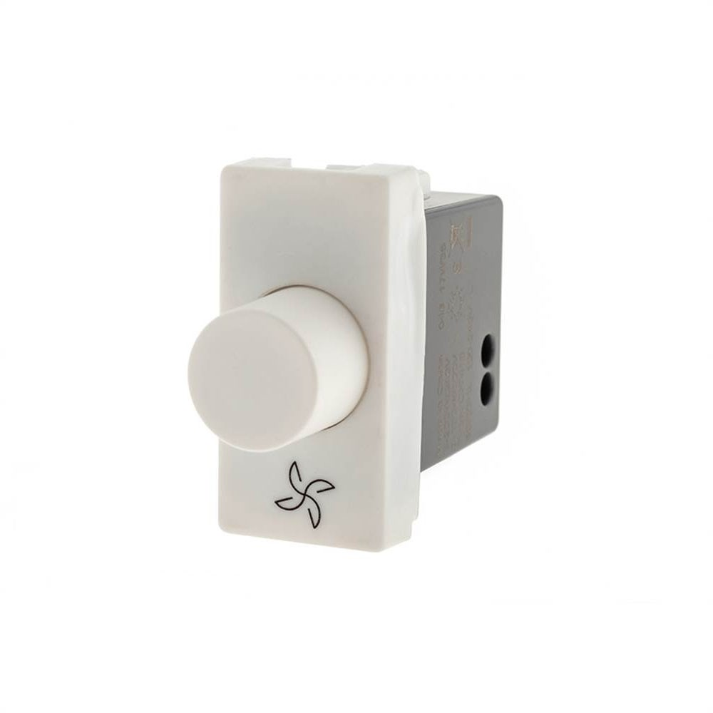 Modulo Plus+ Dimmer Digital P/Vent. Bivolt Branco