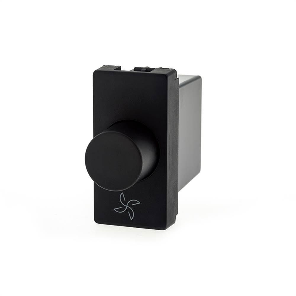 Modulo Plus+ Dimmer Digital P/Vent. Bivolt Preto