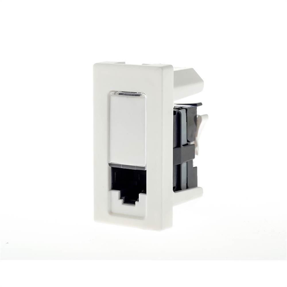 Modulo Plus+ Rj45 Cat5e Branco