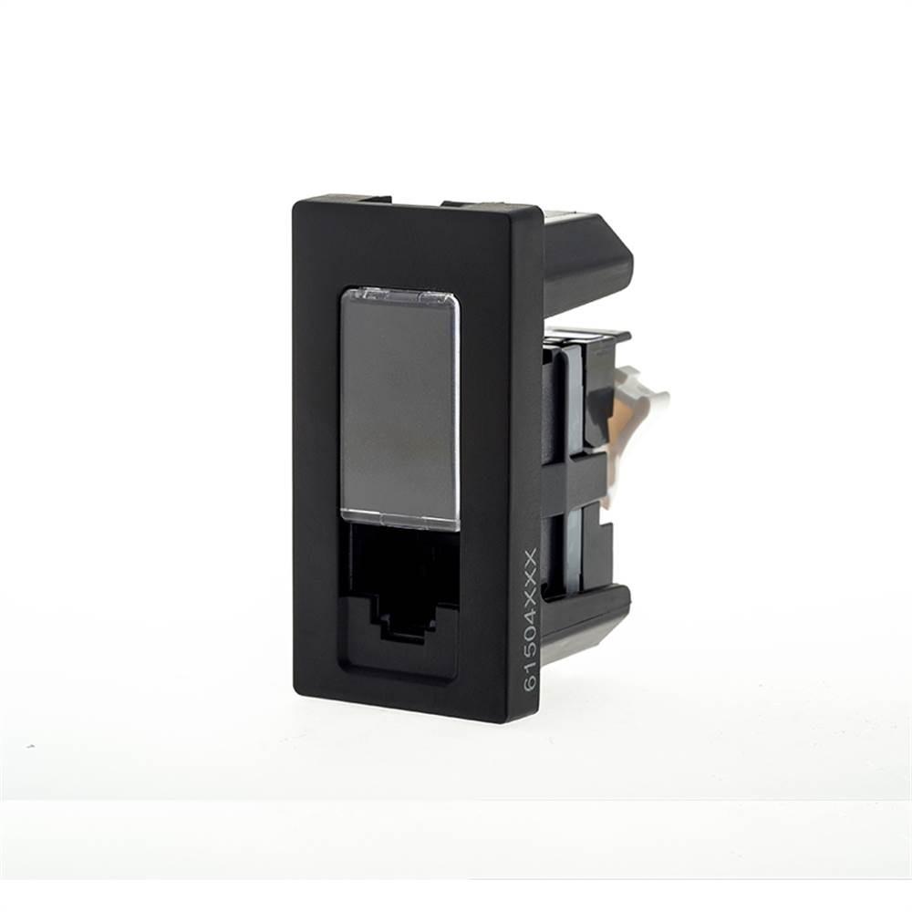 Modulo Plus+ Rj45 Cat5e Preto