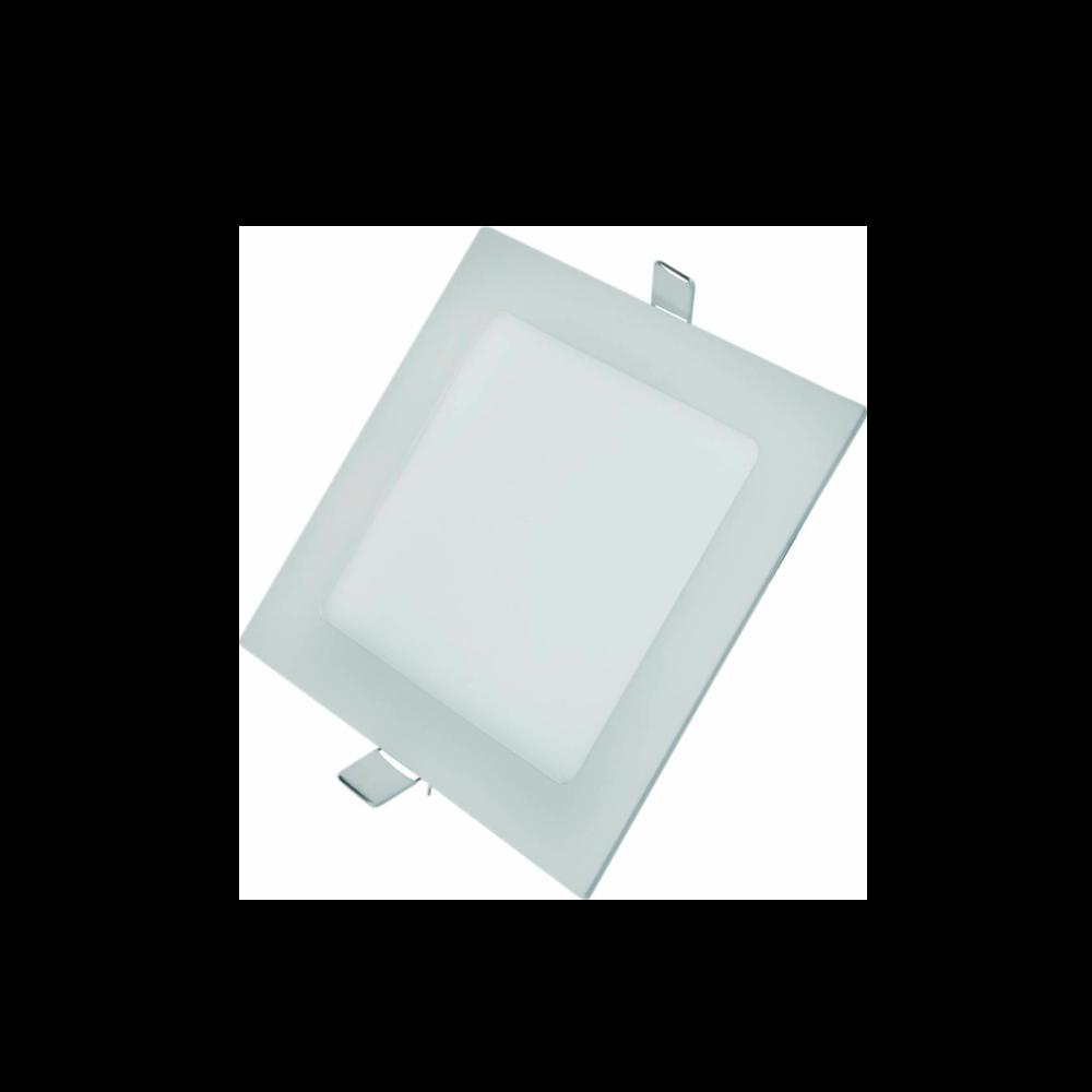 Painel Led G-Light Quad. Embutir 18w 3000k