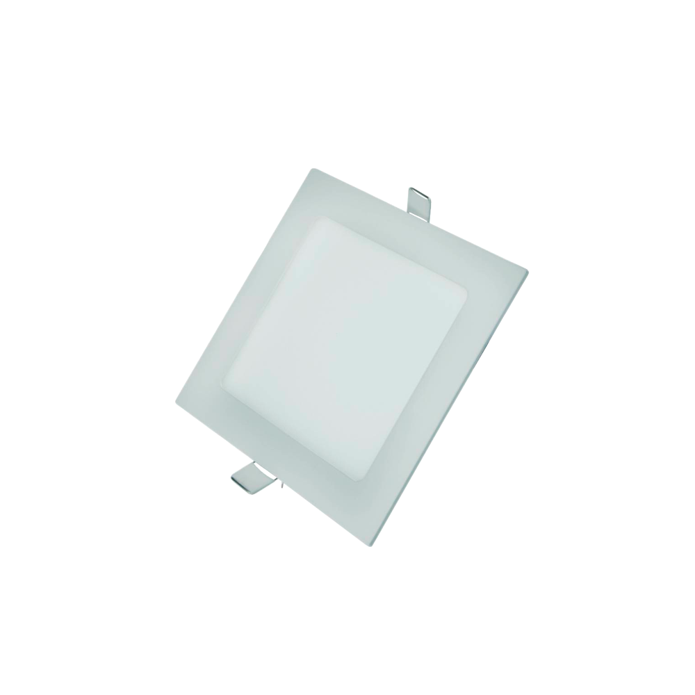 Painel Led G-Light Quad. Embutir 6w 6500k