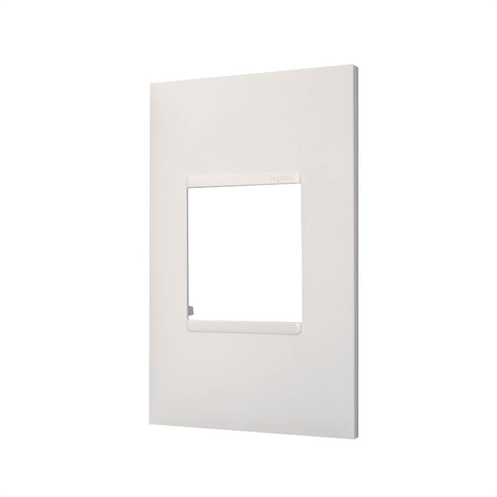 Placa Plus+ 2 Modulo 4x2 Branca