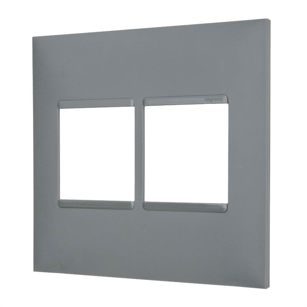 Placa Plus+ 6 Modulo 4x4 Cinza
