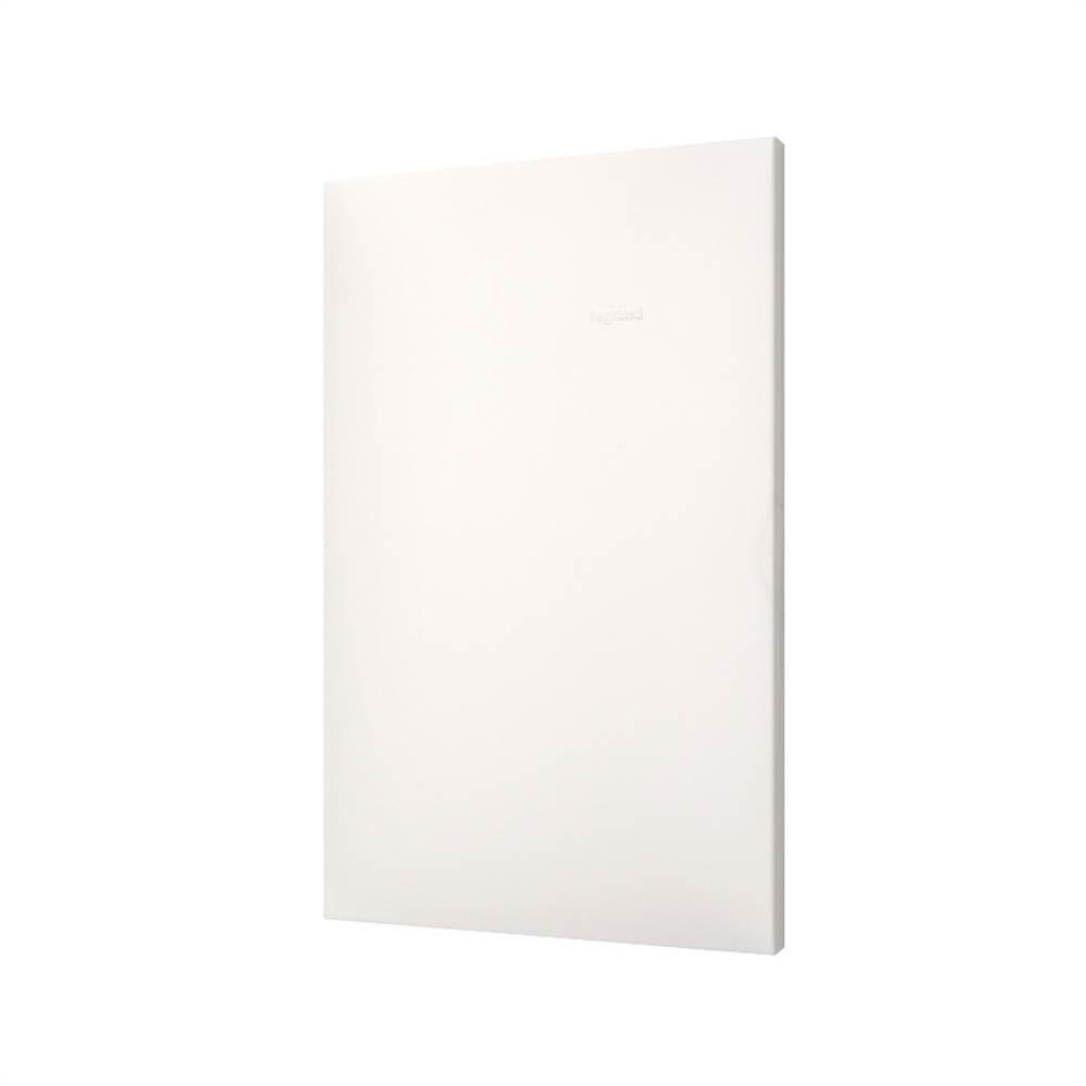 Placa Plus+ Cega 4x2 Branca