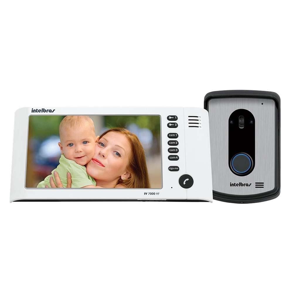 Porteiro Eletronico Intelbras Video Iv 7010 Hf Branco