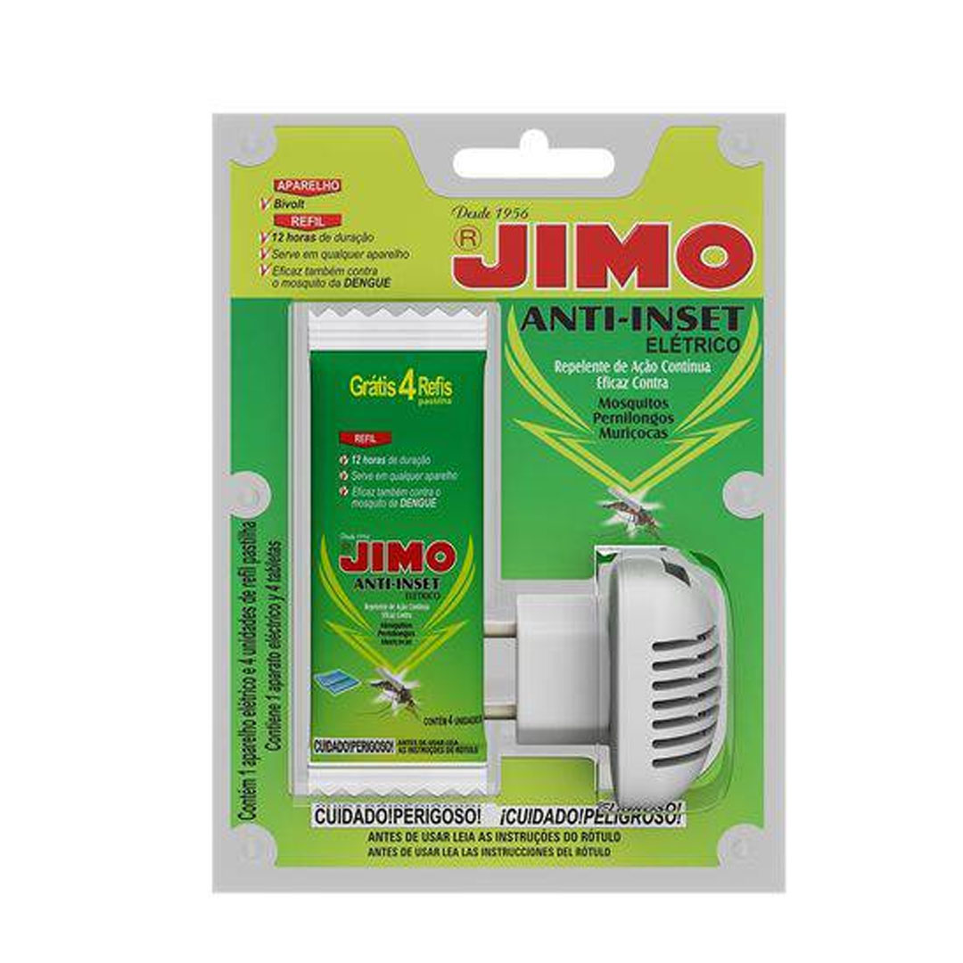 Refil Anti-Inset Jimo Repelente 90 Noites