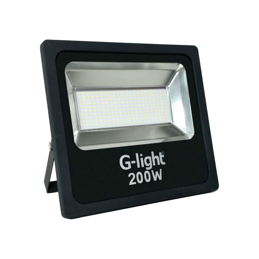 Refletor Led Smd Prof 200w 6500k G-Light