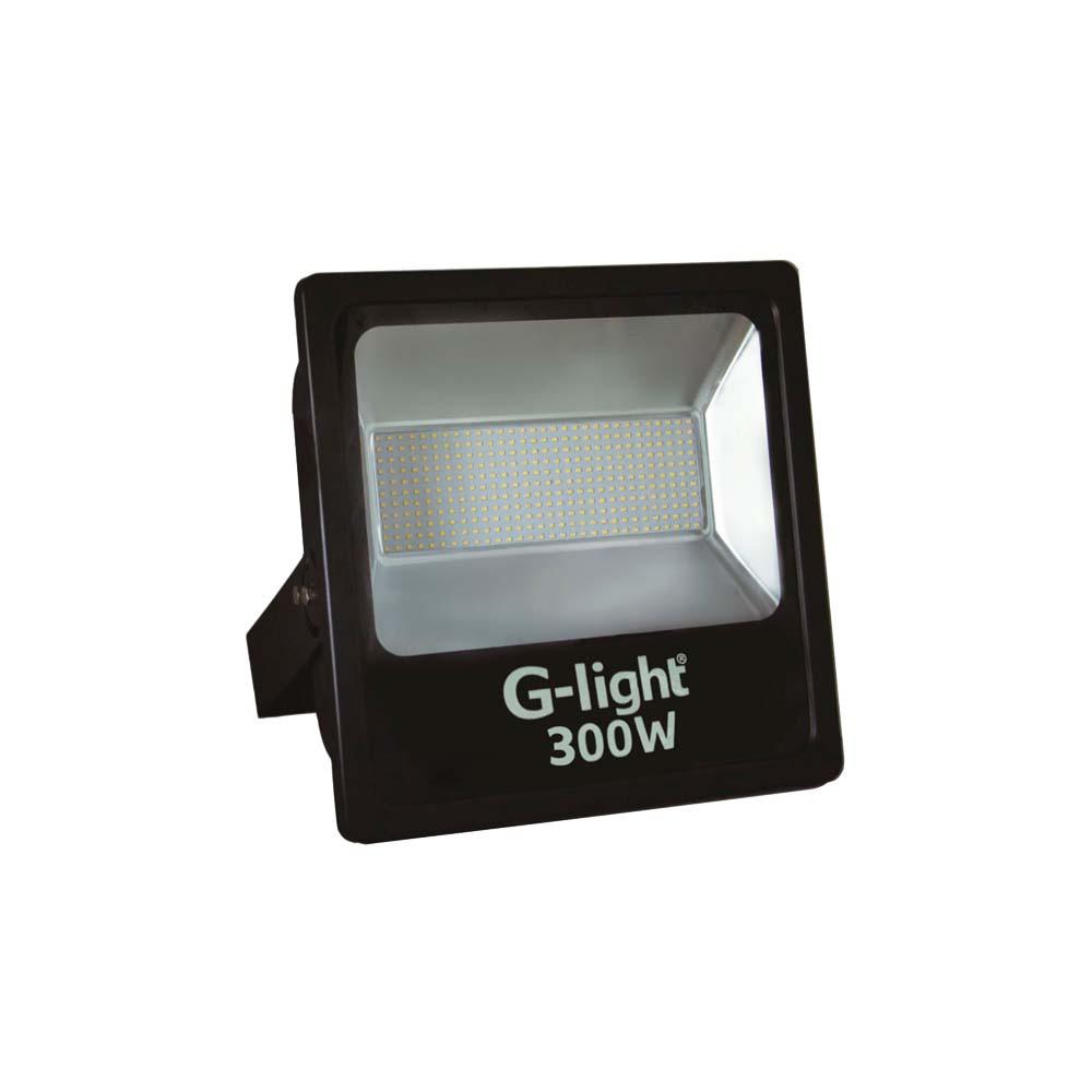 Refletor Led Smd Prof 300w 6500k G-Light