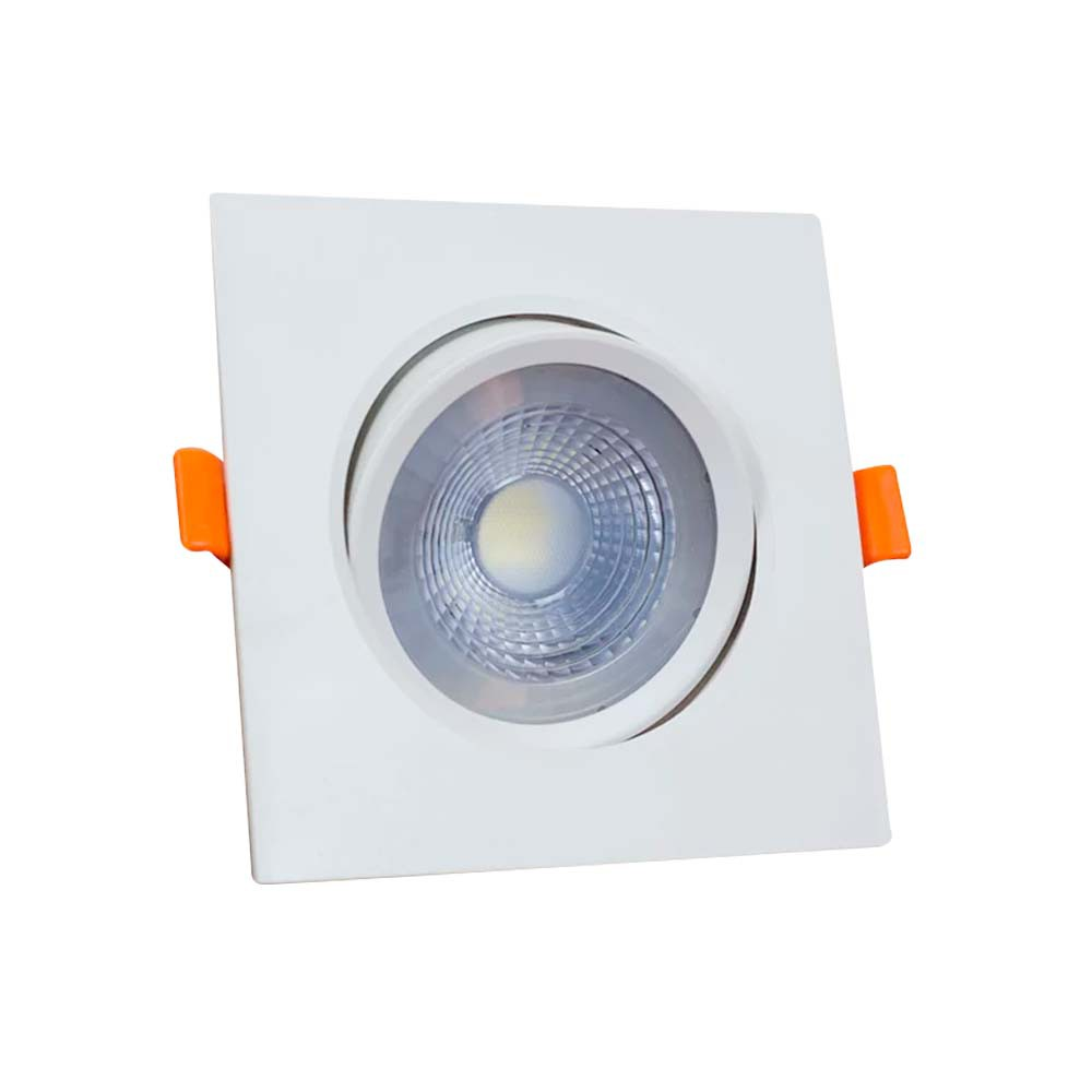 Spot Llum Quad. 3w 3000k Branco C/ Lamp. Led