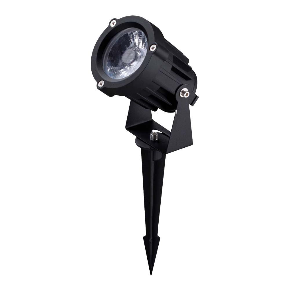 Spot Espeto P/ Jardim Led 10w Al. G-Light 3000k