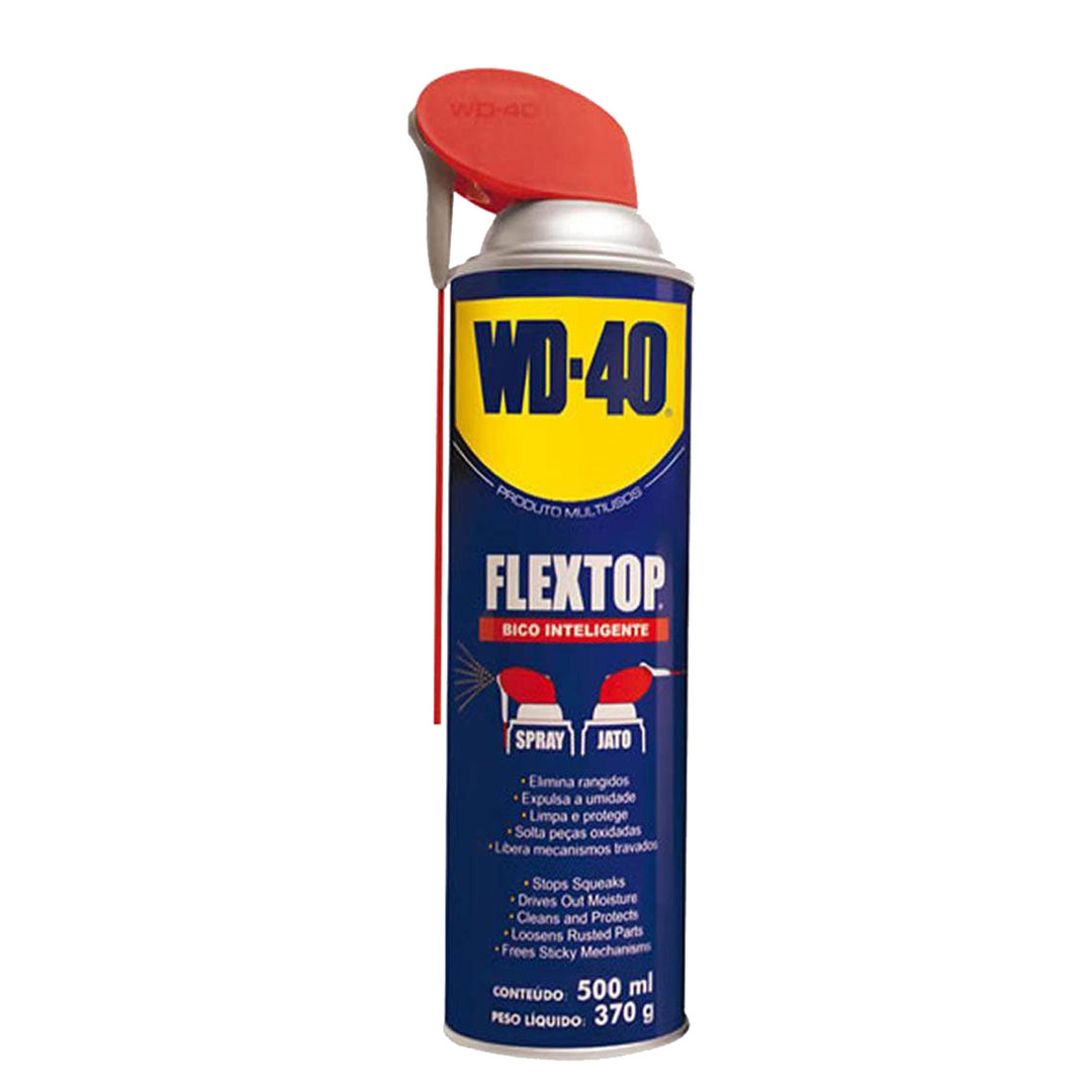 Spray Wd40 500ml Flextop Bico Int.