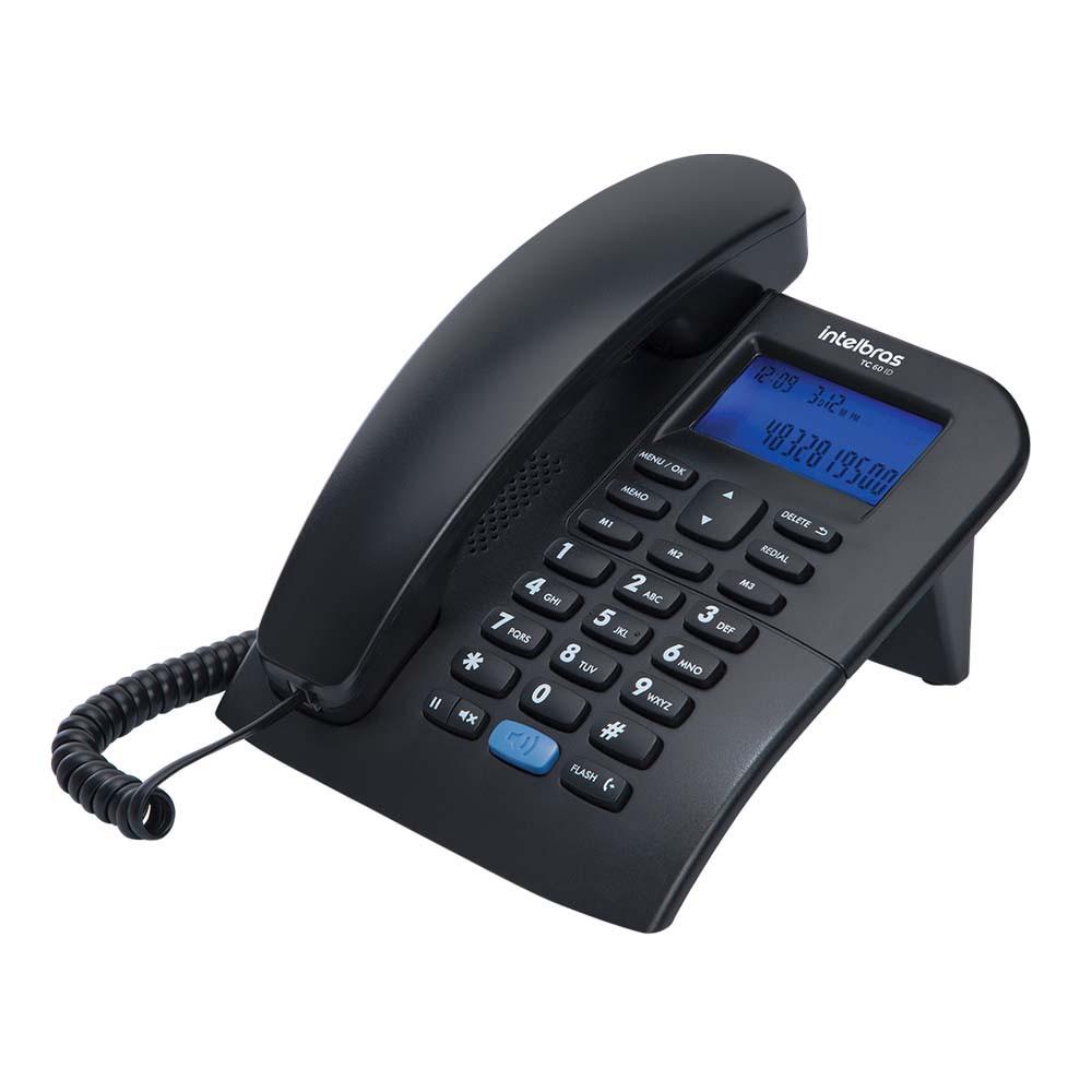 Telefone Intelbras Tc 60 Id