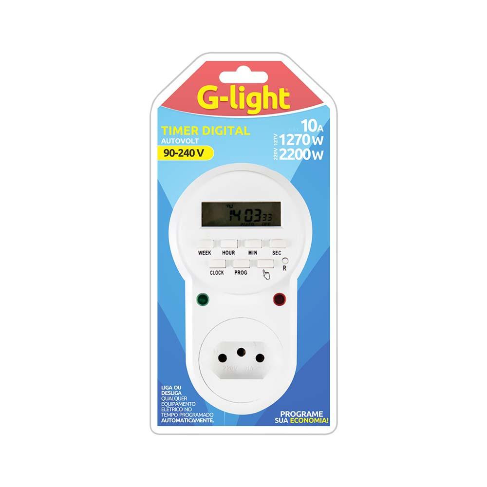 Timer Progamavel Digital G-Light