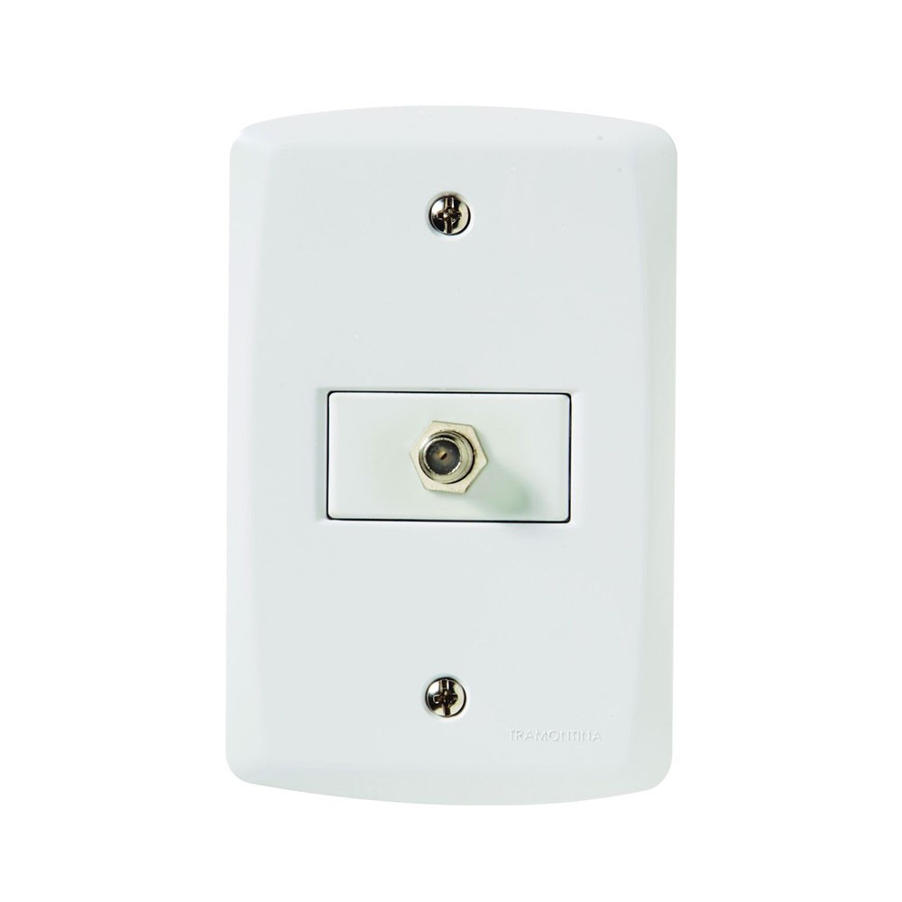 Tomada Lux2 Coaxial