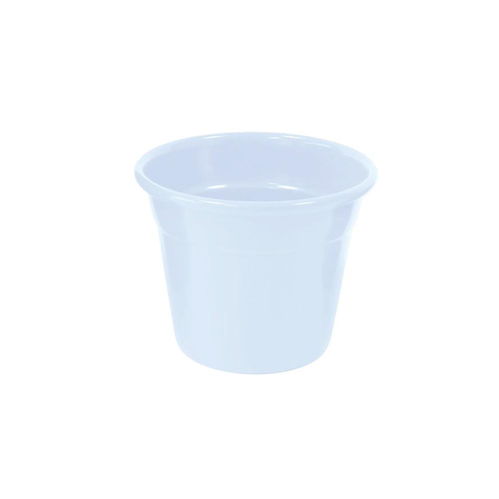 Vaso Japi Aluminio Soleil 6cm Branco