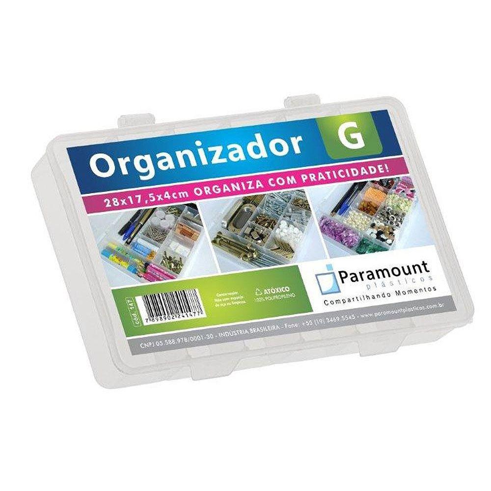 Box Organizador Tamanho G 11 Divisórias