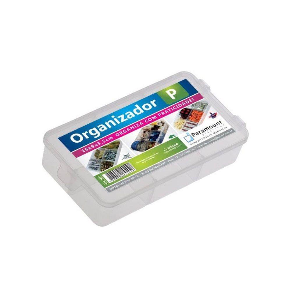 Box Organizador Tamanho P 5 Divisórias