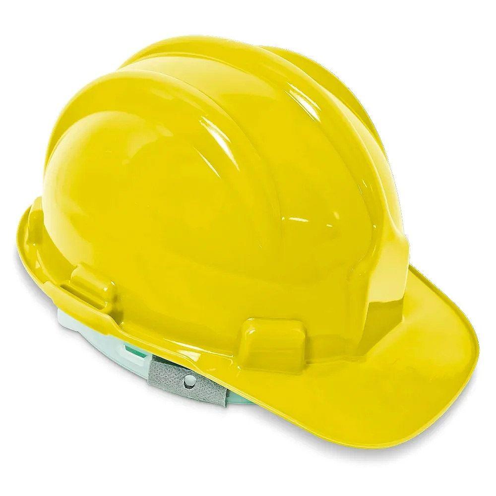 Capacete Plt - Tipo Ii - Classe B - Aba Frontal Amarelo
