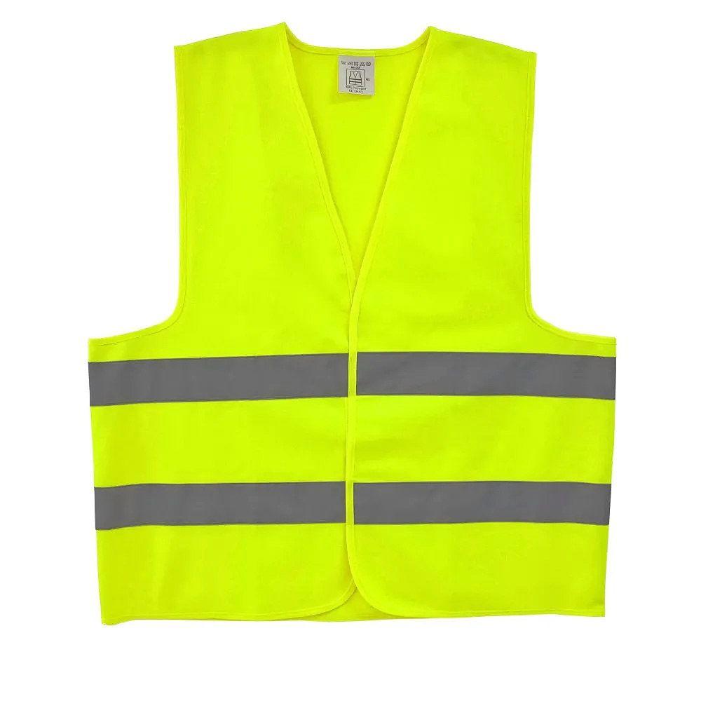 Colete Refletivo Jaqueta Amarelo Xg