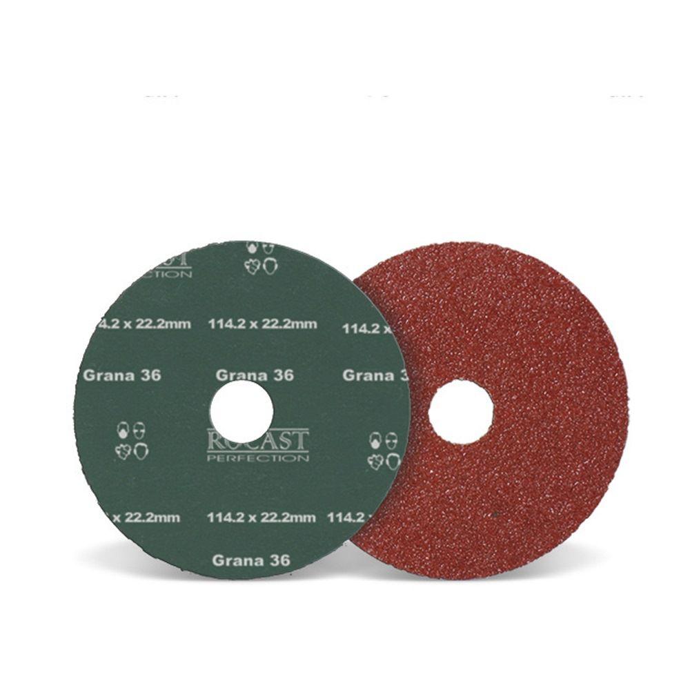 Disco De Lixa 114,3 X 22,2 Grão 36