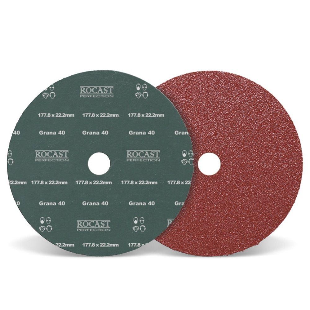 Disco De Lixa 177,8 X 22,2 Grão 50