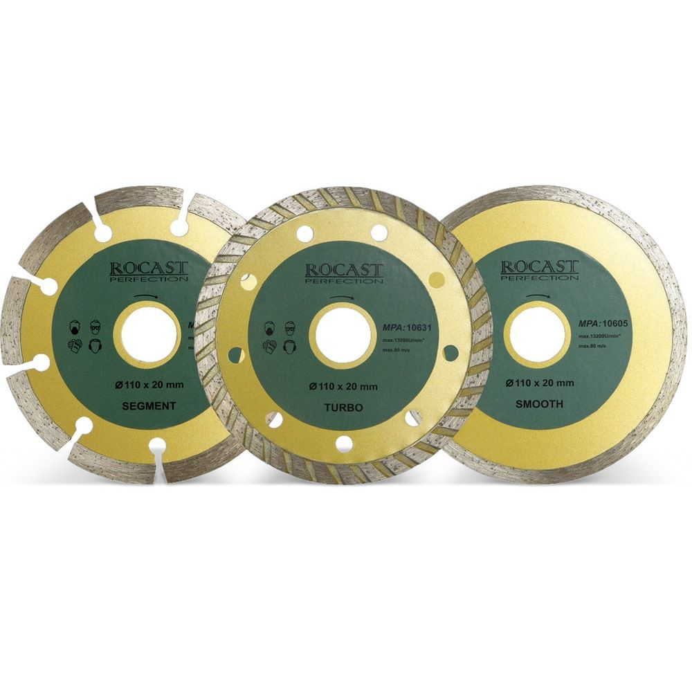 Disco Diamantado Liso 110 X 20 Mm