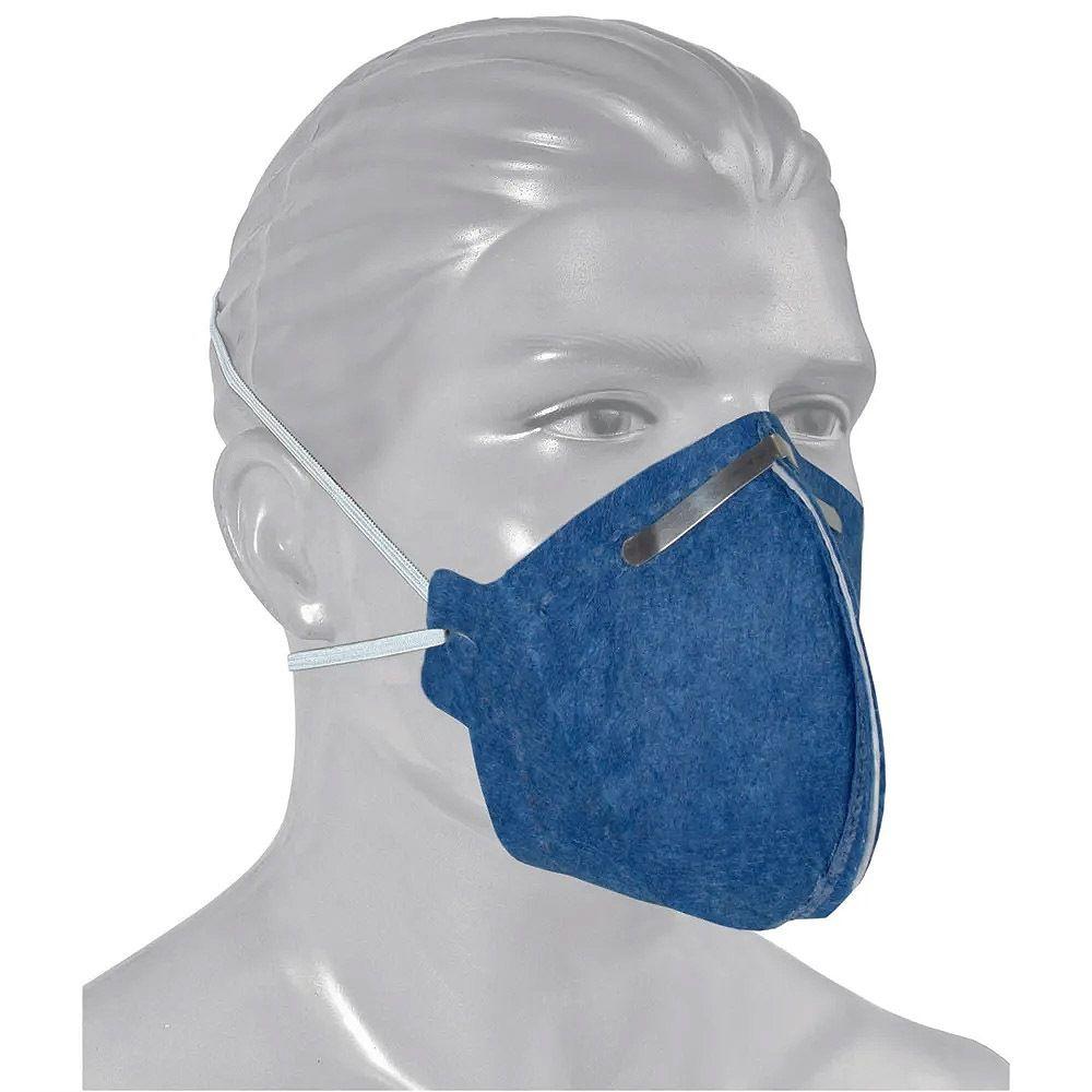 Máscara Respiratória Descartável Pff2 S/ Válvula